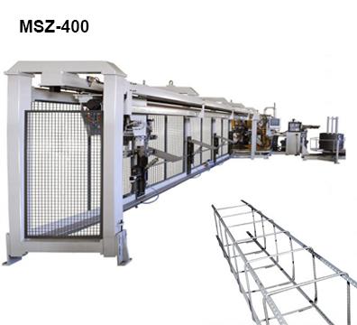 Reivax Maquinas SL: MSZ-400 Maquina para la fabricación de armazones para la construcción.