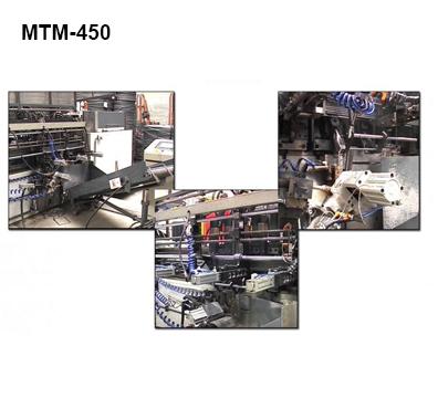Reivax Maquinas, SL: MTM-50 Transfer Machine for Rebar Welding Frames.
