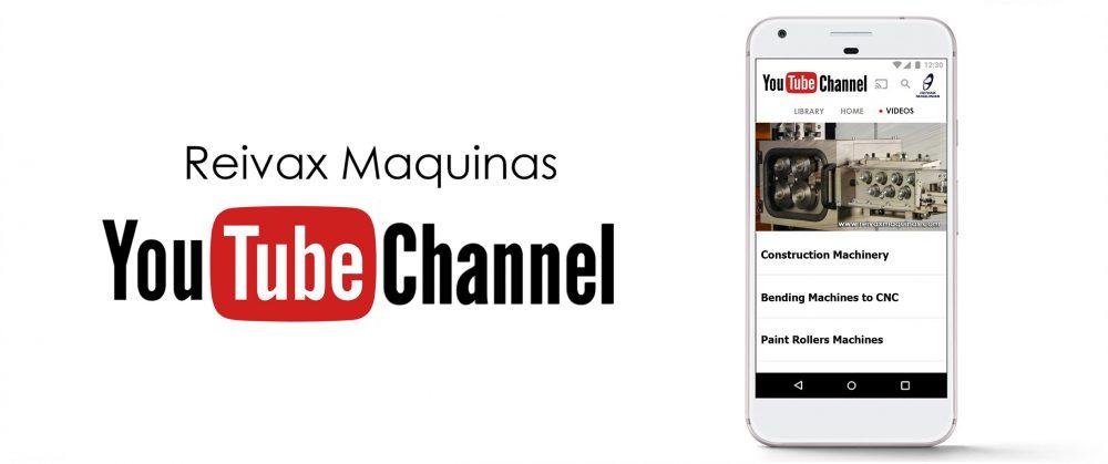 ReivaxMaquinas: YouTube Canal Maquinas y Accesorios