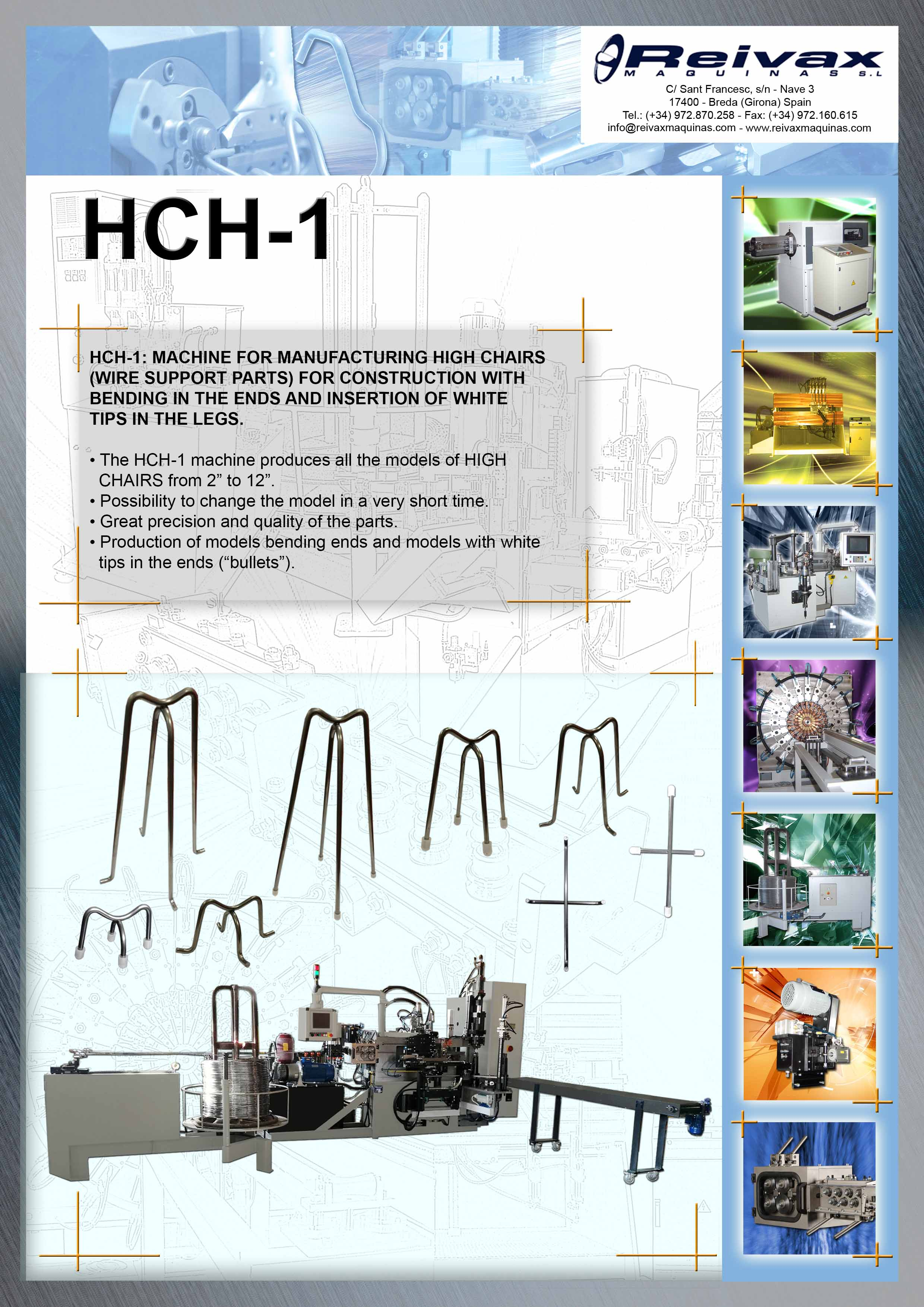 ReivaxMaquinas: Technical Details HCH-1
