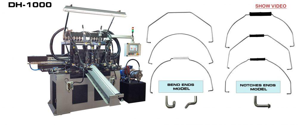 Hydraulic Bending Machine: DH-1000 VIDEO
