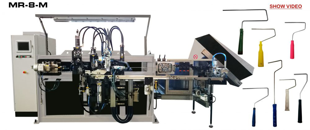 PAINT ROLLER MACHINE REF: MR-8-M Reivax Maquinas Video