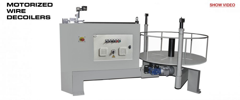 Motorized Wire Decoiler DVM-1000: Reivax Maquinas, SL Video