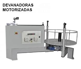 Reivax Maquinas SL: Devanadoras Motorizadas de Alambre
