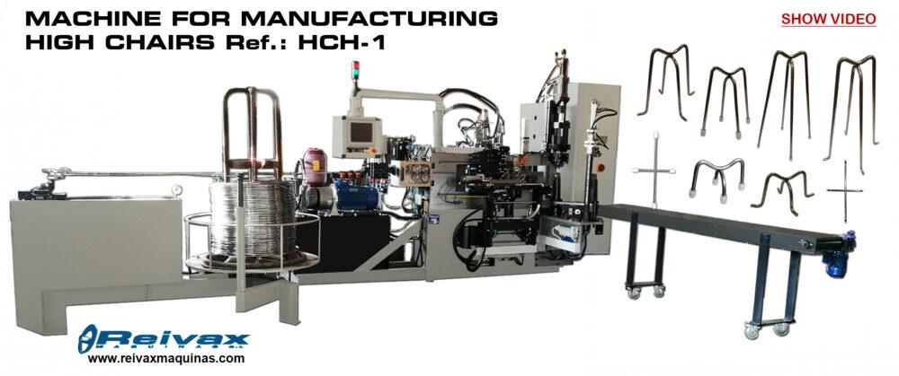 Reivax Maquinas: High Chair Machine - Ref.: HCH-1 Video